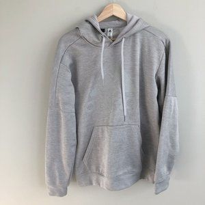 Adidas Climawarm Logo Front Long Sleeve Hoodie M